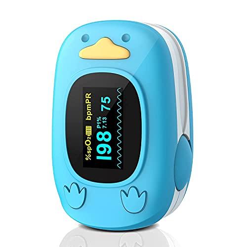 Kinder Fingertip Pulsoximeter Blutsauerstoffsättigungsmonitor für Baby Kinder und Kinder Tragbarer...
