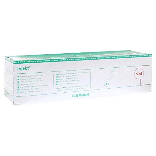 BRAUN INJEKT Spritze 5 ml Luer exzentrisch 100X5 ml