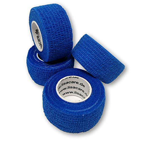 LisaCare Fingerpflaster selbsthaftend - elastisches, wasserfestes, staub- fett- und...