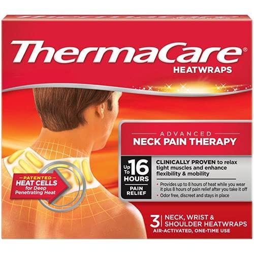 ThermaCare flexible Anwendung Wärmeauflagen für Nacken, Schulter, Rücken oder Lenden – 3 Stück...