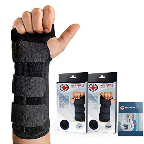 Dr. Arthritis - Handgelenkschiene inkl. Handbuch vom Arzt - Handgelenkschoner Mit Robuster...