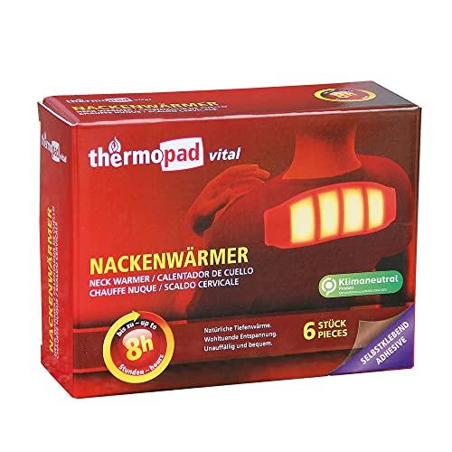 THERMOPAD Nackenwärmer – DAS ORIGINAL: 6x Wärmepads für 10 Stunden Wärme I Sofort...
