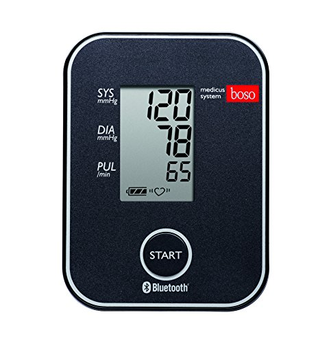 boso medicus system – Kabelloser Blutdruckmesser für die Messung am Oberarm mit...