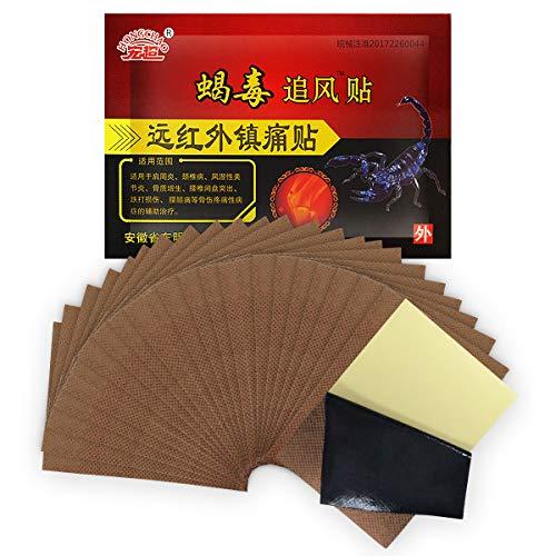 Unim 24-patch/3-bag Chinesisch Schmerzlinderung Pflaster Entlastung Rheuma Arthritis & Knie Gelenke...