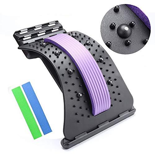Crovida Rückendehner, chiropraktische Rückengeräte mit Magnetperlen zur Haltungskorrektur und...