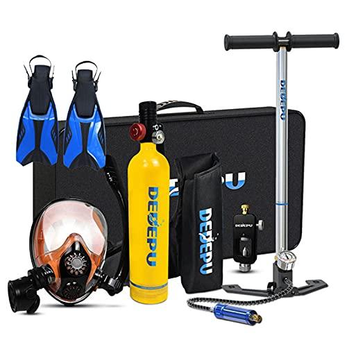 Sauerstoffflasche Tauchen Scuba Diving,1L Mini Tauchflasche Tragbare Tauchausrüstung...