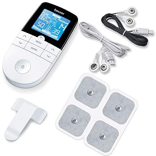 Beurer EM 49 Digital TENS/EMS, 3-in-1 Reizstromgerät zur Schmerzlinderung durch elektrische...