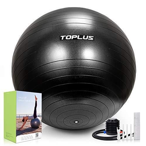 Gymnastikball Sitzball Extra dicker Yoga-Ball-Stuhl, Anti-Berst-Stabilitätsball für hohe...