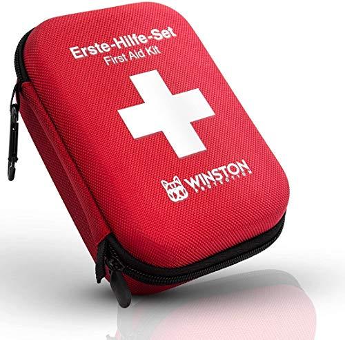 Winston Protection ®️ Erste Hilfe Set - Erste Hilfe im 30-teiligen Set mit Zeckenzange und...
