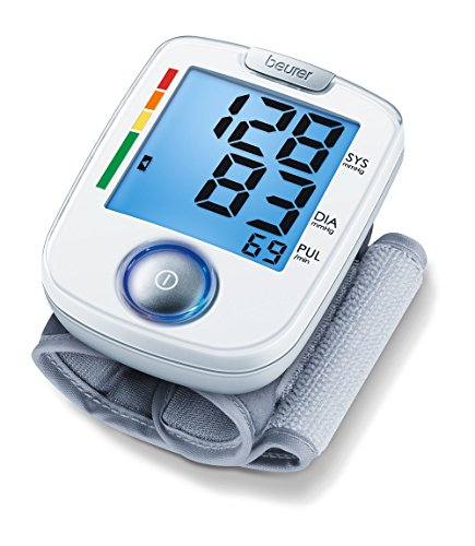 Beurer BC 44 Handgelenk-Blutdruckmessgerät, mit komfortabler Ein-Knopf-Bedienung zur einfachen,...