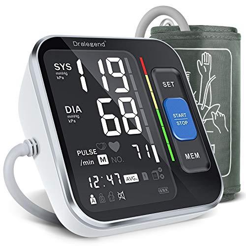 Dralegend Blutdruckmessgerät Oberarm,Digitales Blutdruckmessgerät mit...