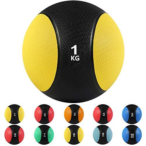 arteesol Medizinball 1-10 kg Profi Medicine Ball Medizinbälle Trainingsball Gewichtsball...