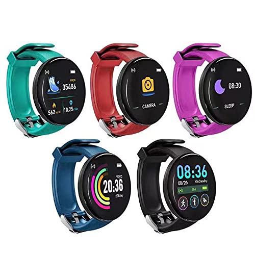 Fitness Smart Watch für Damen Herren – 2021 Erwachsene Smartwatch Fitnessuhr Touchscreen...