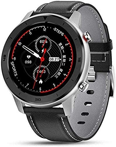 Smartwatches Herren Runde Touchscreen Smart Watches IP68 Wasserdicht Sportuhr für Android IOS