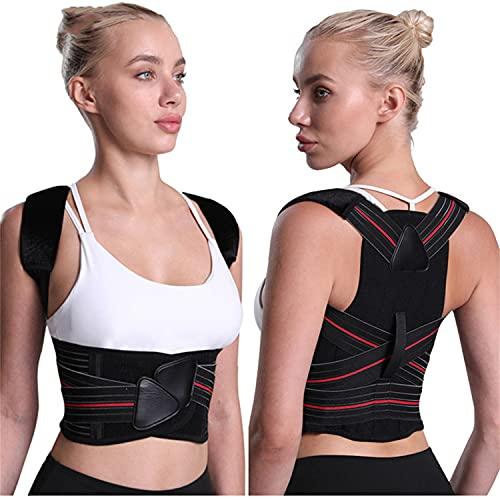 Rücken geradehalter für damen und herren,schultergurt haltungskorrektur, rückenstabilisator,...