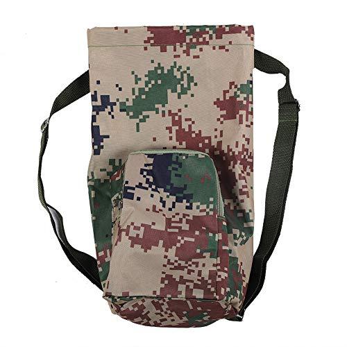 Deror Sauerstoffflaschen-Rucksack 2L medizinischer tragbarer Sauerstoffflaschen-Tankrucksack mit...