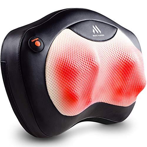 Shiatsu Nackenmassagegerät - Rückenmassagegerät mit Wärme, Massagekissen für Schultern, unteren...