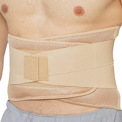 Neotech Care - Rückenbandage für die Lendenwirbelsäule - verstellbare Kompression - atmungsaktiv...