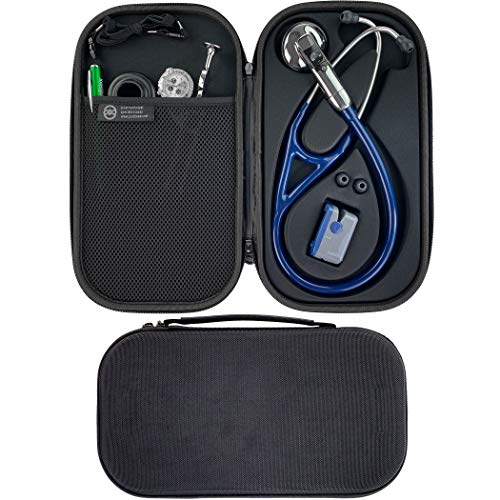 Pod Technical, Cardiopod II Stethoskop-Tasche für alle Littmann-Stethoskope, komplett schwarz