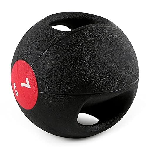 Medizinbälle Binaural Medizin Ball, Männliche Und Weibliche Kerntraining Gummi Fitness Ball, Home...