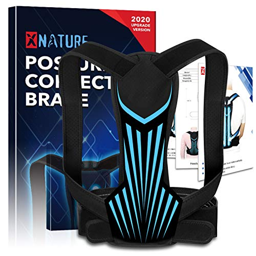 XNATURE Haltungskorrektor für Männer und Frauen, Upgrade Version Geradehalter Rücken...