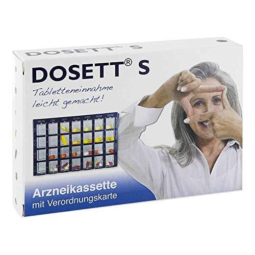 Dosett S Arzneikassetten Blau, 1 St