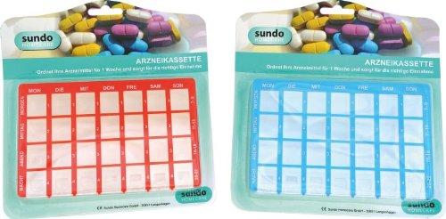 Arzneikassette Sundo (Blau)