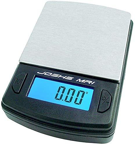 JOSHS Digitalwaage Feinwaage Briefwaage die in 0,01 g Schritten präzise bis 100g wiegt -...