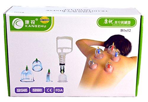 kangzhu Muffinblech für 12, biomagnetisch chinesischen Schröpftherapie Therapie Set
