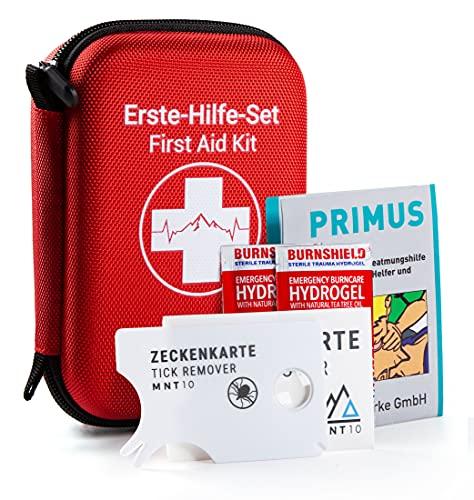 MNT10 Notfall Erste Hilfe Set Outdoor I Inhalt aus Deutschland nach DIN 13167   First Aid Kit +...