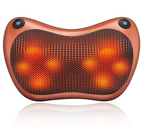 POKAR Massagegerät Shiatsu 3D Massagekissen mit Wärmefunktion Elektrische Nackenmassagegerät...
