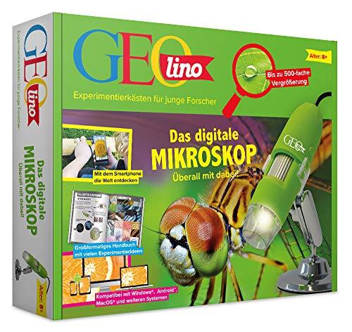FRANZIS 67069 - GEOlino Das digitale Mikroskop - überall mit dabei, bis zu 500-fache...