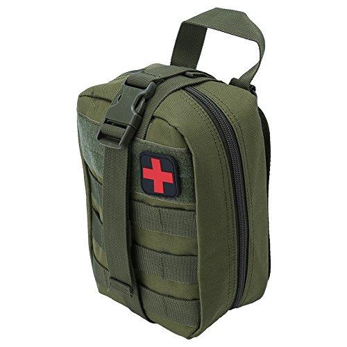 Tactical Erste Hilfe Tasche, Outdoor Medical Erste Hilfe Tasche Klettern Notfall Etui Utility...