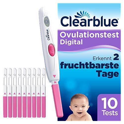 Clearblue Kinderwunsch Ovulationstest-Kit Digital, Nachweislich schneller schwanger werden, 1...
