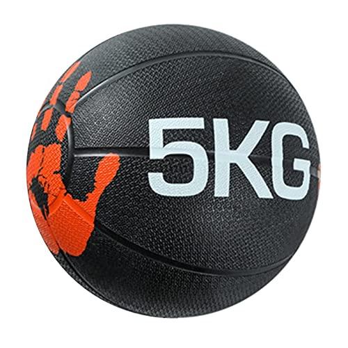 Medizinball Fester Medizinball Aus Gummi, Krafttraining Im Fitnessstudio, Schwerkraftball,...