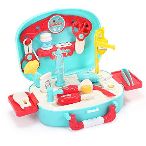 Lying Kinderspielzeug Klang- und Lichtsimulation Arztwerkzeug-Set, Stethoskop Stethoskop...