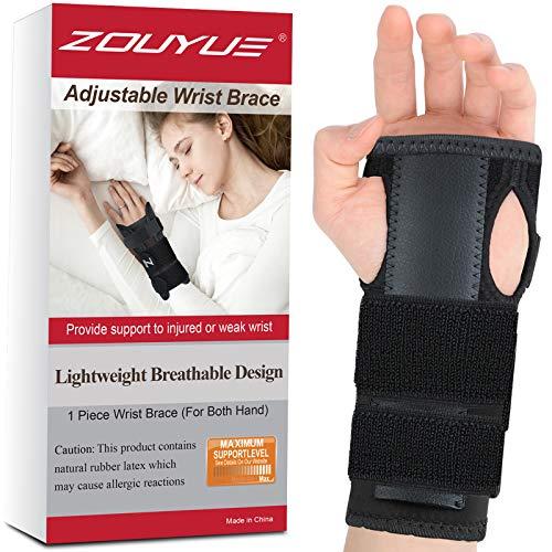 ZOUYUE Handgelenk Bandagen, Handgelenkschiene Handgelenkstütze Handbandage für Schmerzlinderung...