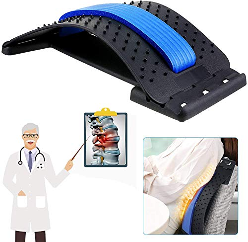 Rückenstrecker, Home Rückenmassagegerät, Rückenmassage entspannt den Rücken und löst...