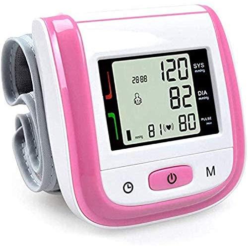 SONG Digitales Blutdruckmessgerät,Bildschirm Zur Anzeige des Handgelenk-Blutdruckmessgeräts für...