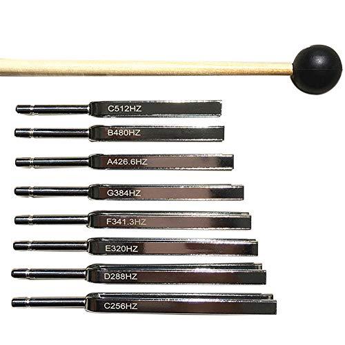 FADDARE Stimmgabeln, Steel Perfect Healing Musikinstrument für Heilung, Meditation,...