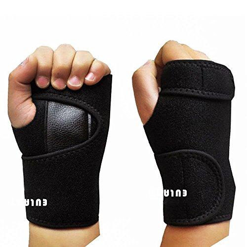 EULANT Handgelenk Schienen Bandage, Atmungsaktiv Handgelenkschiene (Rechts & Links)