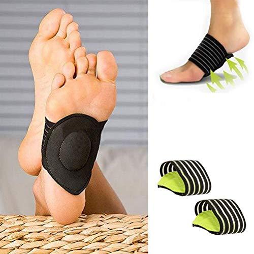 U/K 1 Paar Fußpolster zur Unterstützung des Fußgewölbes Kompressionsmassagegerät für Flache...