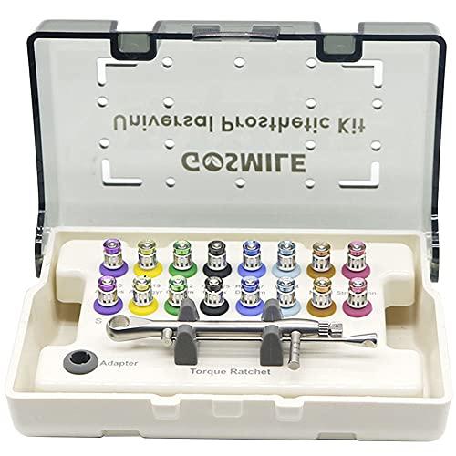 liliiy Universal-implantat-Reparatur-Tool-kit Mit 12-teiligen Schraubendrehern Buntes Prothetik-kit...