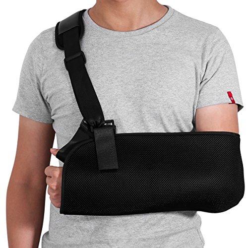 Healifty Armschlinge Schulter - Einstellbar für Armbrüchen Gebrochenen Arm, Schulter Rotator...
