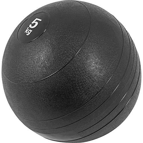 GORILLA SPORTS Slamball Gummi Medizinball Fitnessball Trainingsball No Bounce Farbe 5 KG