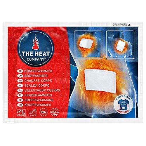 THE HEAT COMPANY Bodywärmer - EXTRA WARM - klebend - Körperwärmer - Rückenwärmer - 12 Stunden...