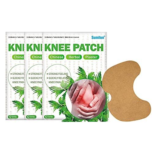 Vigcebit1 Kniegelenk Schmerzlinderung,Moxibustion Patch, 12 Teile/schachtel Moxibustion Knie...