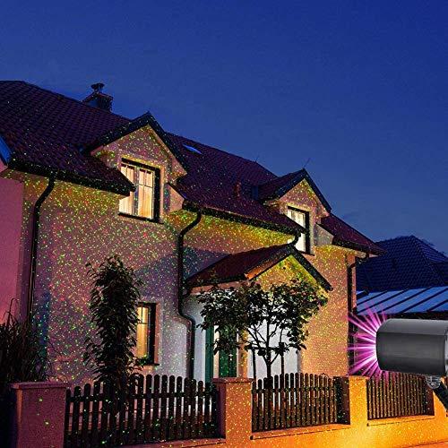 LED Projektionslampe, Lichteffekt mit Schutzart IP65 für Innen und Außen, Beleuchtung als...
