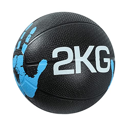 Medizinball Gummi-Medizinball, Fitness-Ball Mit Geringer Sprungkraft, Fitnessgeräte Für Das...