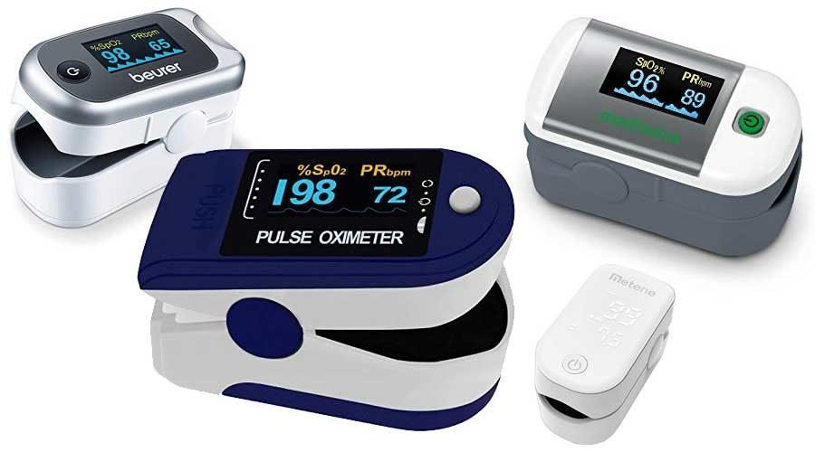 Pulsoximeter Finger-Blutdruckmessgeraet-Pulsoximeter